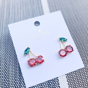 NWT Authentic Kate Spade ♠️ Cherry 🍒 Earings